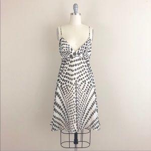 Milly Of New York Silk Polka Dot Sleeveless Dress